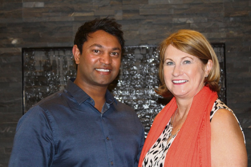 Saroo and Sue Brierley, whose story has inspired both a book and a movie.