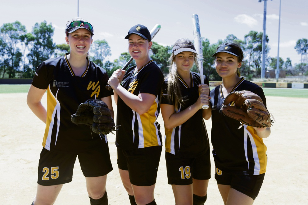 Emma McLean, Amy Hunt, Jessica Petrie and Rachel Leong.  Picture: Andrew Ritchie    d464239