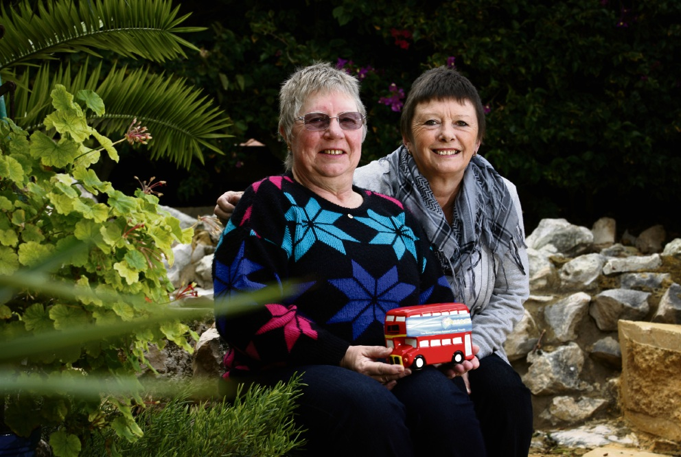 Jo Holding (now Hutchins) and Sue Dash founded TRYACT in 2013. Picture: Marie Nirme