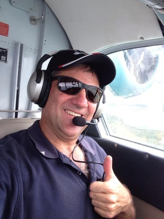 A Facebook image obtained Friday, Jan. 27, 2017 of Peter Lynch. Mr Lynch was one of two people who died after a plane crashed into the Swan River in front of horrified onlookers during Australia Day celebrations in Perth yesterday. (AAP Image/Facebook)