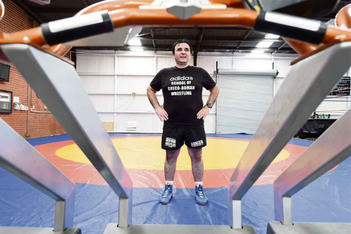 Wrestling coach Adrian Tesanoic at the MMA 24/7 gym in Belmont has been selected as an official for the 2018 Commonwealth Games.