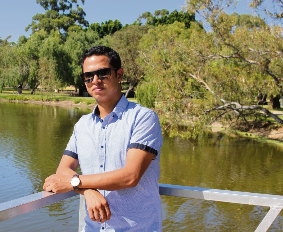 Bhuwan Khadka: Practising your |culture can be difficult.