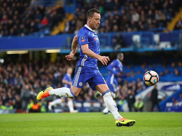 Chelsea Football Club legend John Terry could be among those players visiting Perth in 2018 as part of an exhibition match against Perth Glory. Picture: Clive Mason, Getty Images.