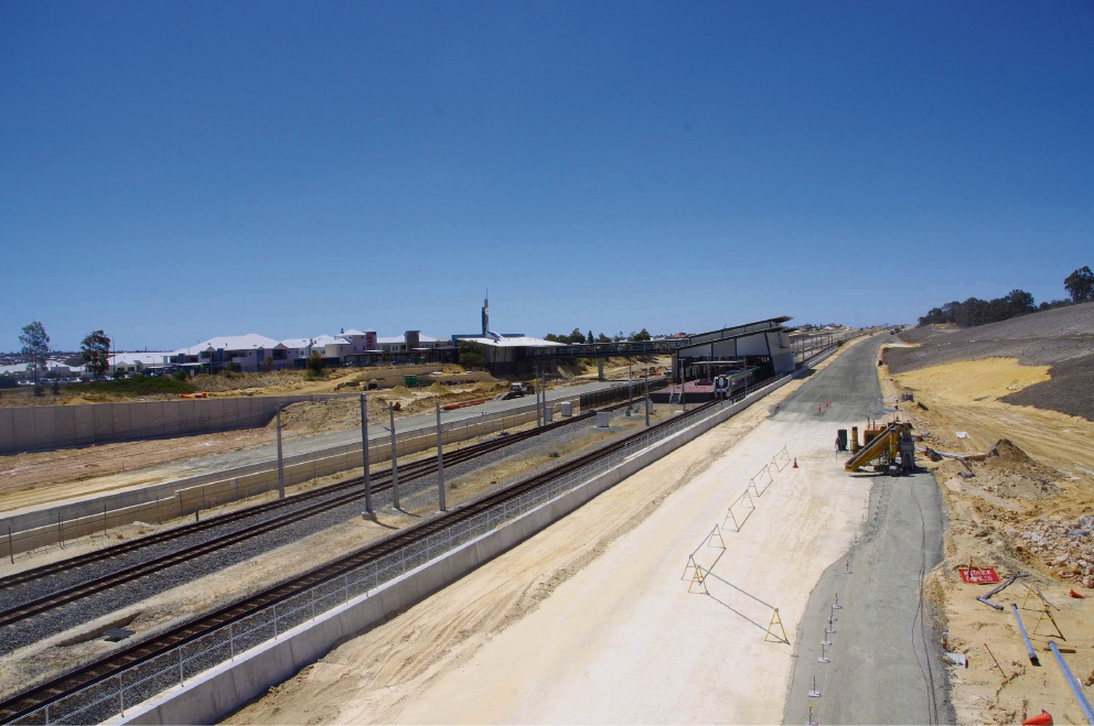 Work on the Mitchell Freeway extension continues