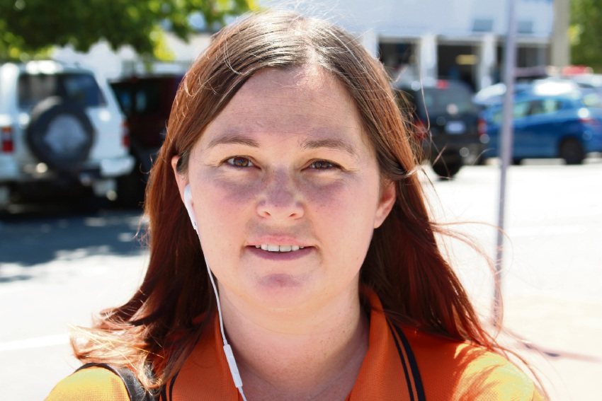 Toyah Worsley, of Bullsbrook, is concerned over crime.