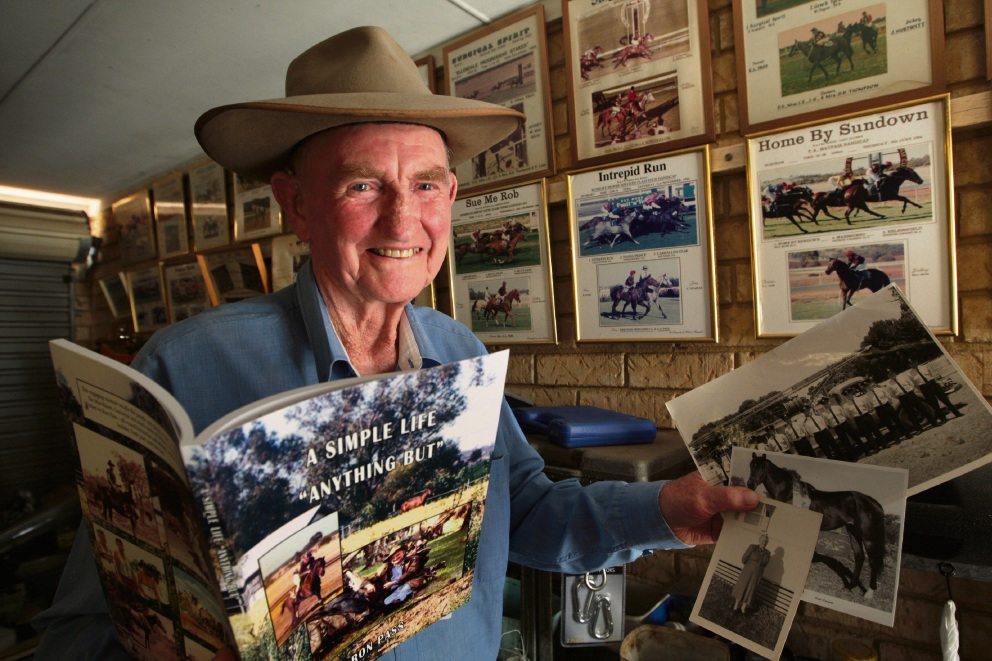 Ron Pass has written a book about his life experiences. Picture: Bruce Hunt www.communitypix.com.au d464247