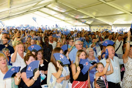 The City of Joondalup Australia Day ceremony. Pictures: Chris Kershaw