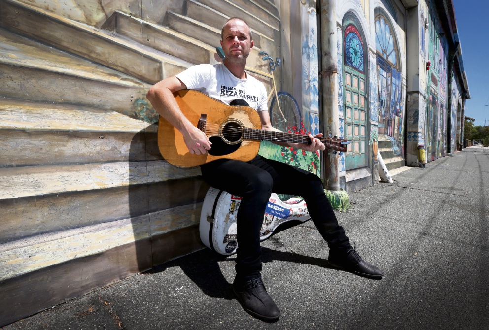 Musician's work with mental health inspires Islands album