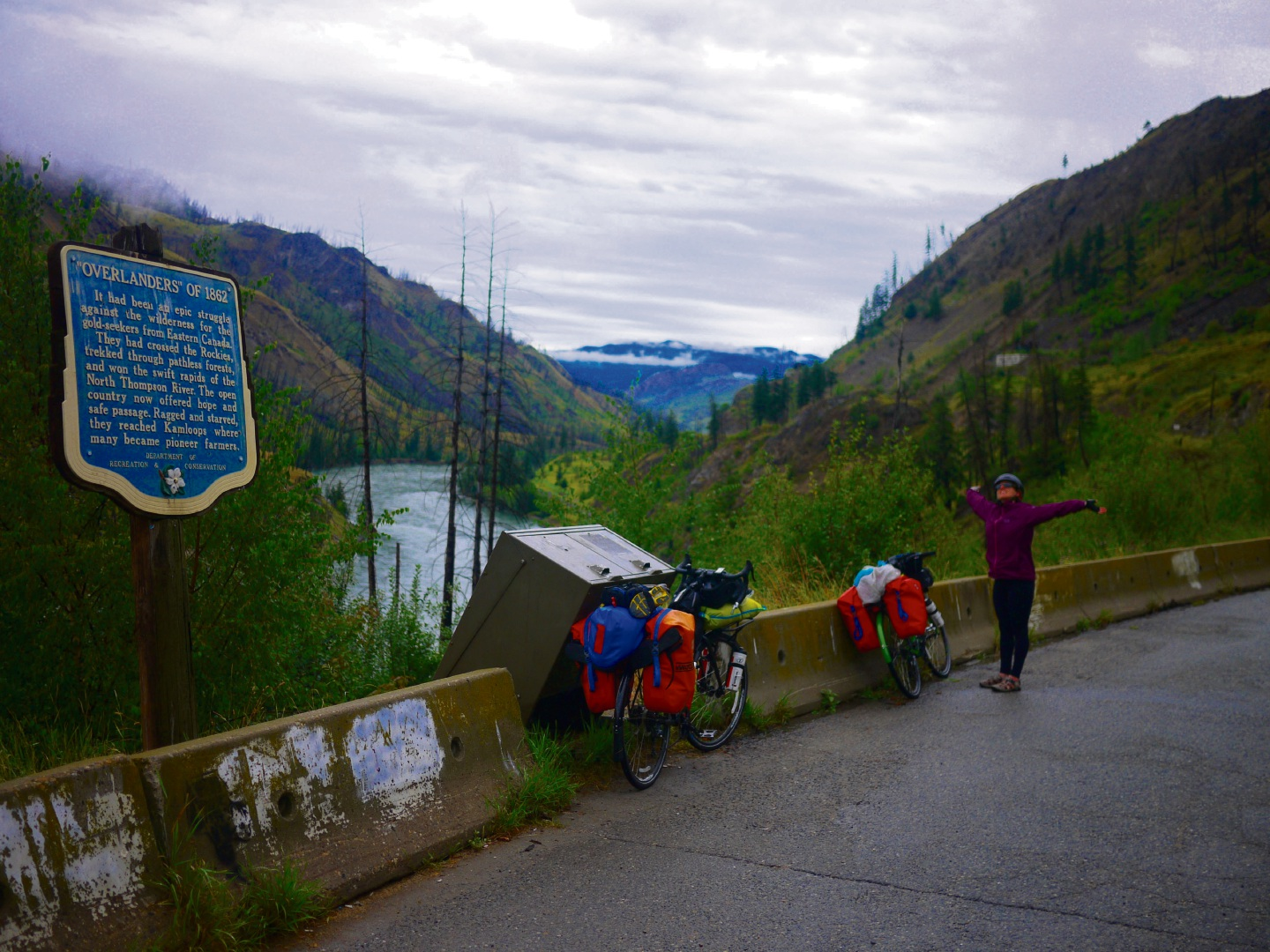 The road less travelled: Kinross pair travelling the world by bike