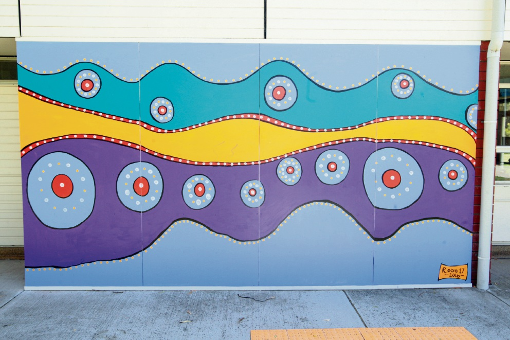 Murals bring colour to Padbury Primary School