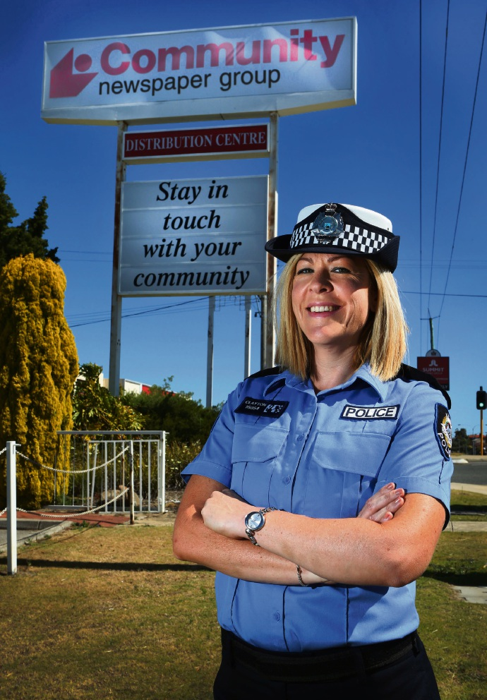 Former Melville Times journo now fighting crime on her old patch