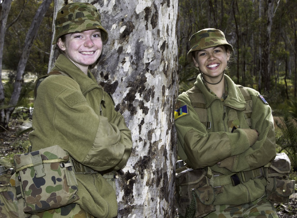Gilmore College army cadet finds mateship is order of the day