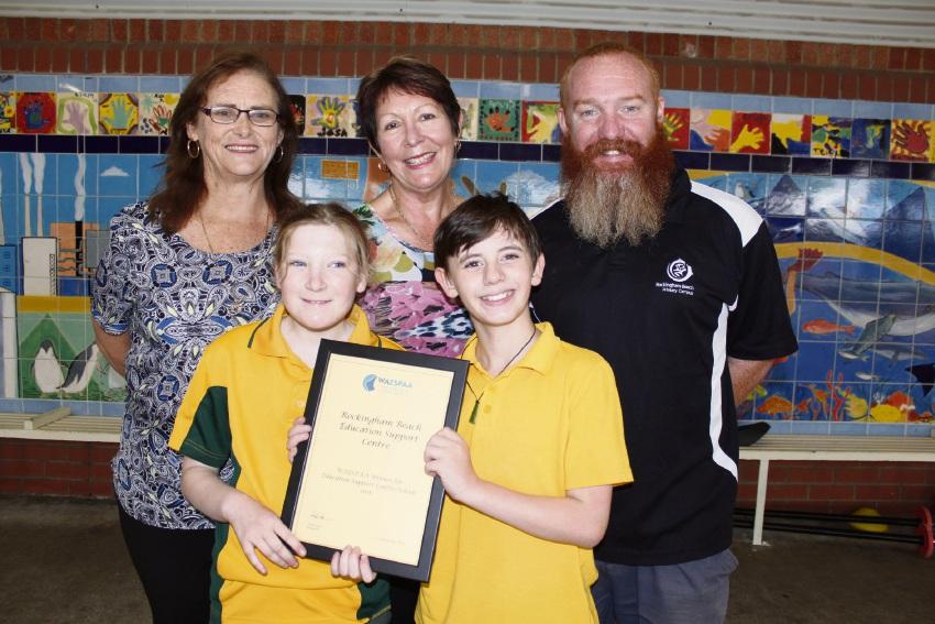 Rockingham Beach education support centre award validation for good job says principal