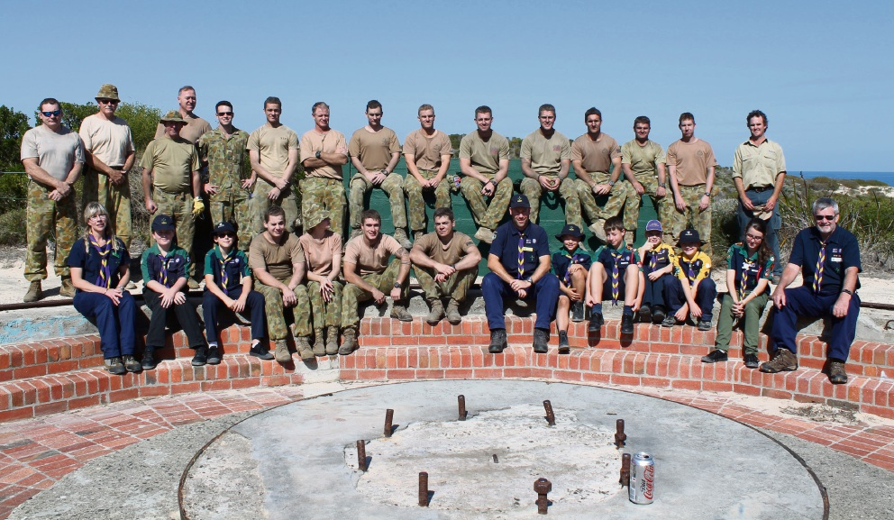 Soldiers from the 11/28 Battalion of the Royal WA Regiment and local scouts will be taking part in Operation Sandy Shovel on Sunday to remove sand from an old ammunition bunker at Point Peron.