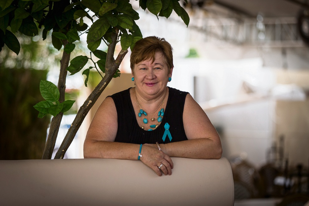 Julie Ranford was told there was no hope when they discovered she had ovarian cancer. Today she is 'miraculously' in remission.