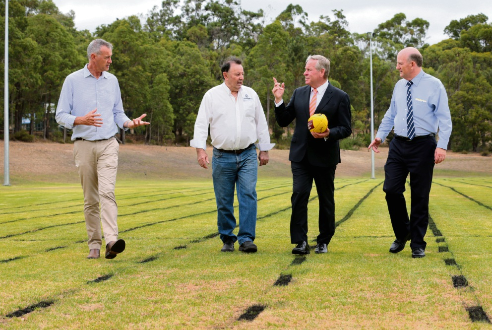Barnett promises $4.5m for new lights at sports faciliites