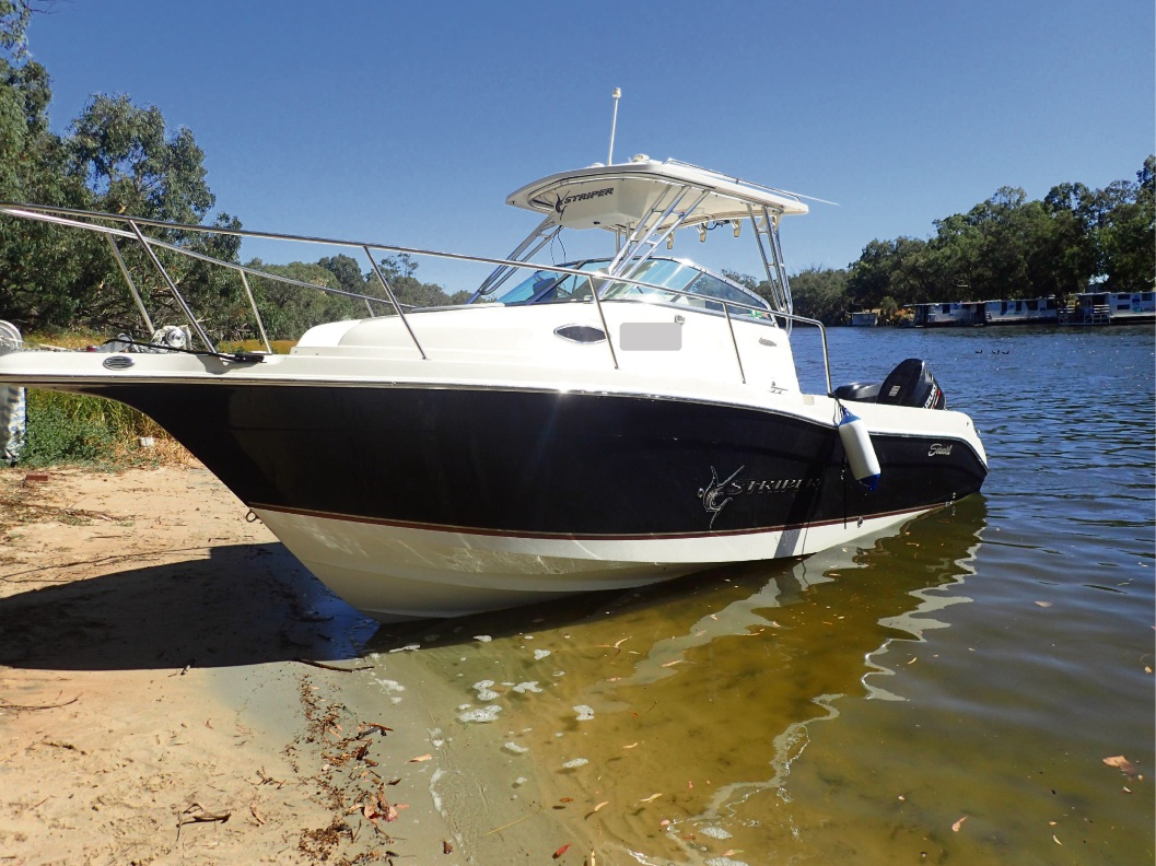 The cabin cruiser involved in the fatal incident has been seized for forensic examination.