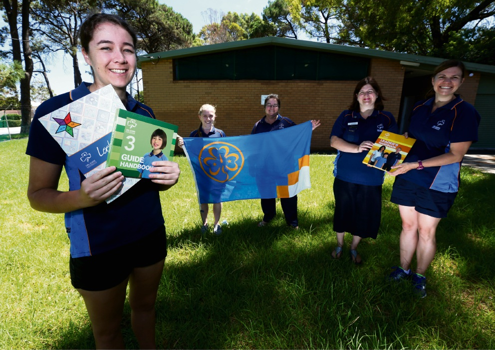 Melville Girl Guides are calling out for more leaders to join.  Picture: Matt Jelonek www.communitypix.com.au   d464968