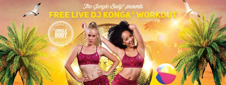 Free Konga workout with live DJ at Scarborough Beach