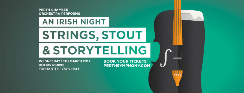 Perth Chamber Orchestra Presents An Irish Night: Strings, Stout and Storytelling at Fremantle Town Hall
