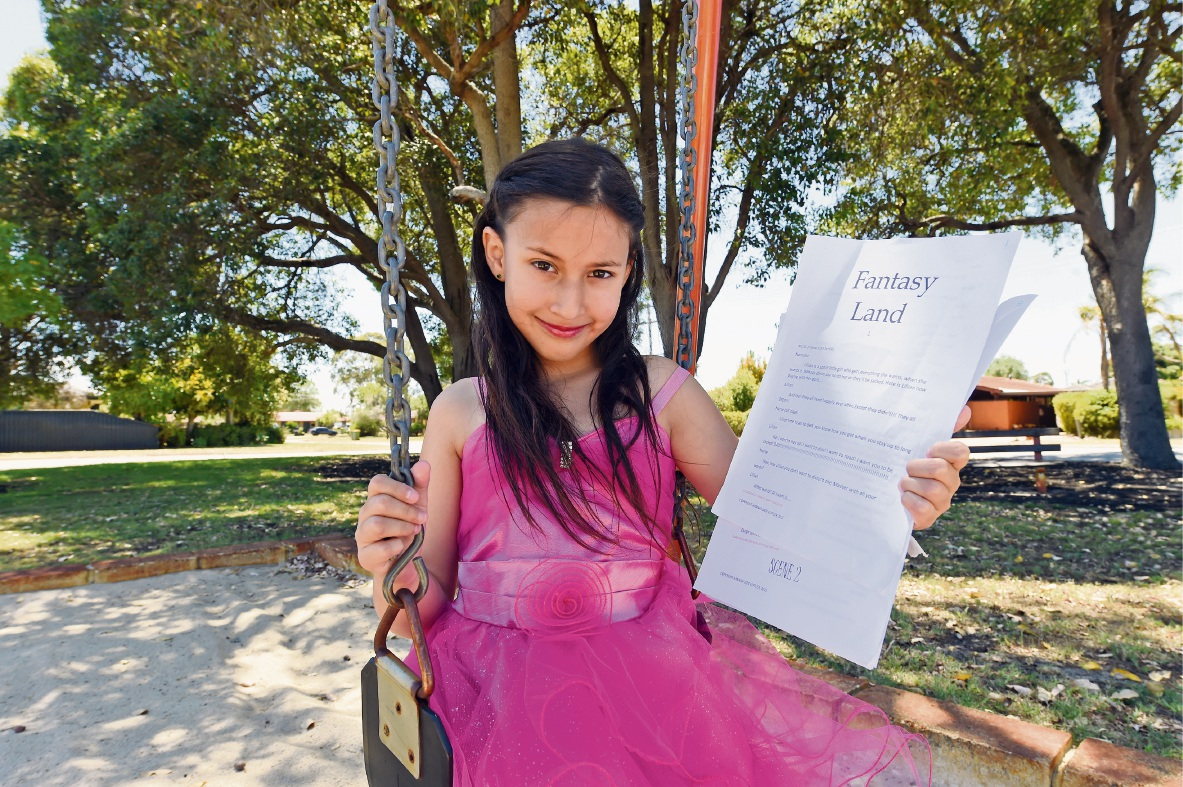 Ferndale youngster writes, directs and stars in play … aged just 11