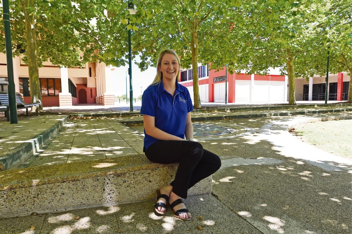 Speech pathologist Kirsty Pitcher