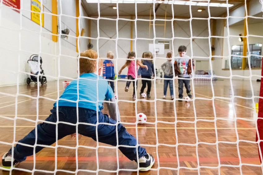 Children will have the opportunity to enjoy sports games at a free children's event.