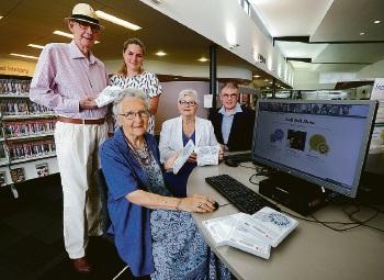 James Harwood, Farah Kabbani, Anne Pickett, City of South Perth Mayor Sue Doherty and Greg Benjamin. Picture: Matt Jelonek