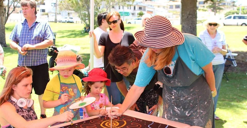 Head along to Hyde Park for a free community art event