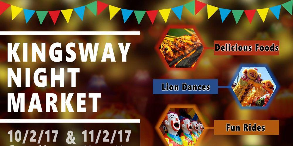Kingsway Night Market on this weekend
