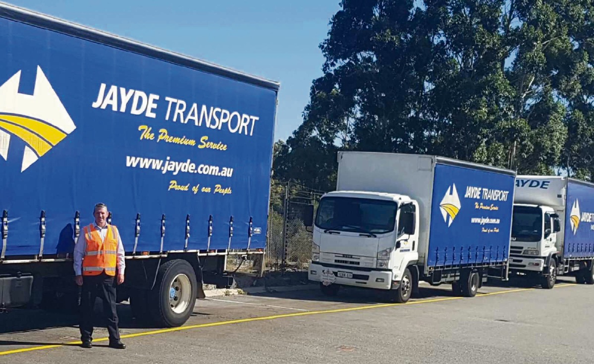 Peter Draper heads up Jayde Transport.