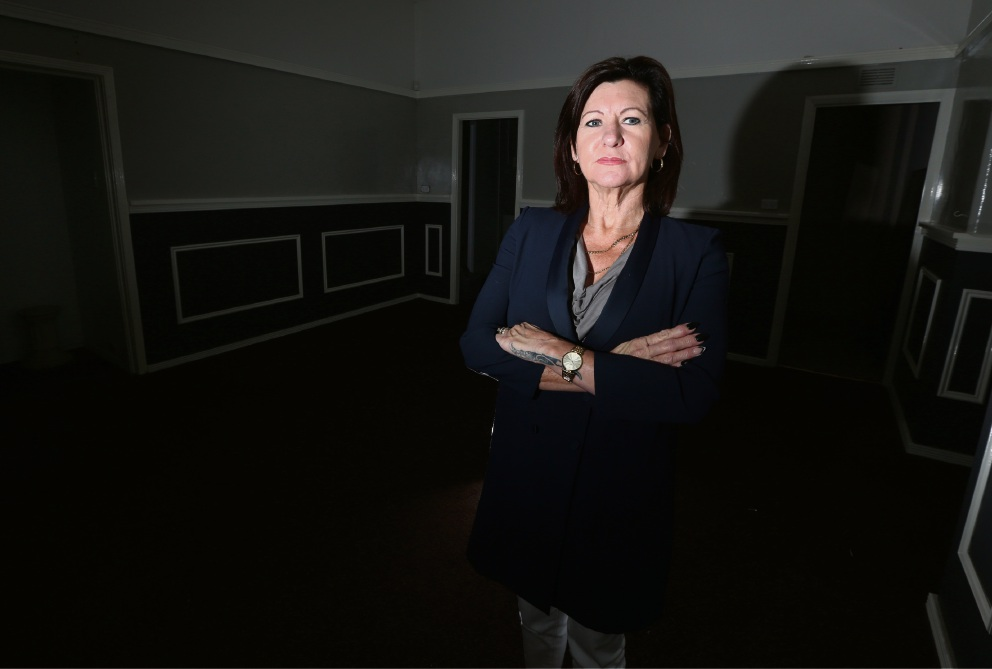 Sue Chapman, who ran the Madison Avenue Brothel, says business has waned recently. Picture: Matt Jelonek        www.communitypix.com.au   d465208