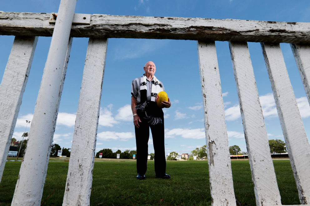 John Cooper, Swan Districts Football Club legend who played 122 games for the club, is unhappy with the current WAFL system. Picture: David Baylis
