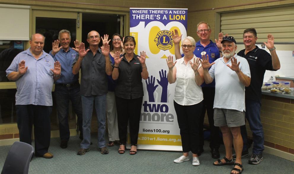 Quinns Rocks–Mindarie Lions Club members.