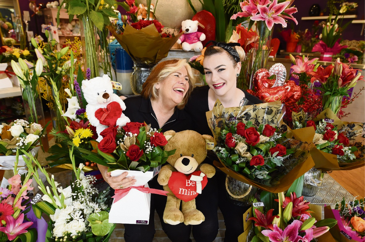 Local florists gear up for Valentine's Day surprises