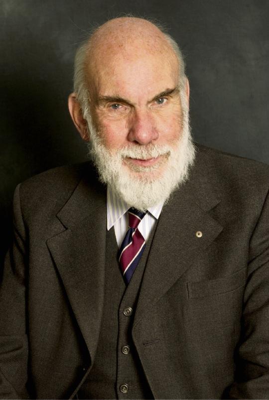 Foundation Professor of History at Murdoch University Geoffrey Bolton.