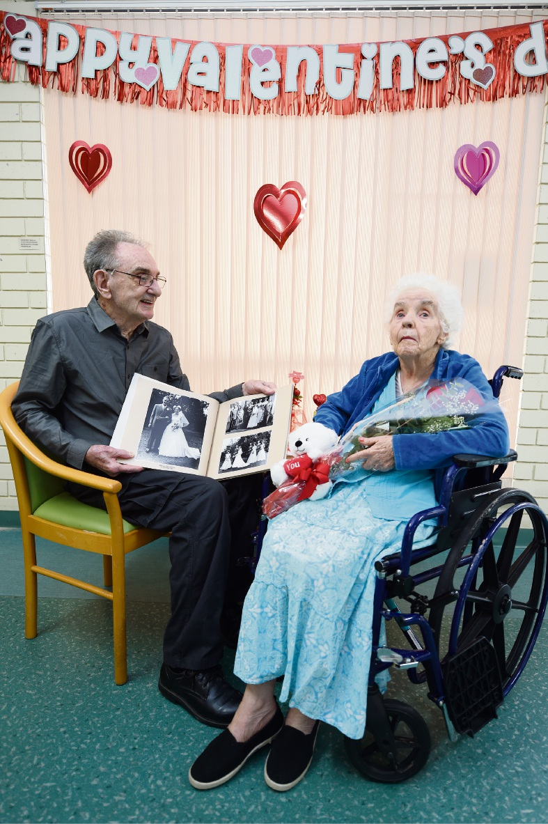 Halls Head couple's love still strong after more than 60 years