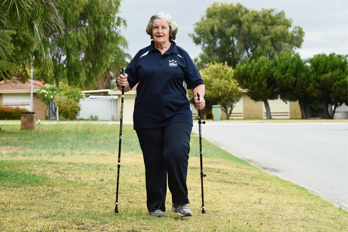 Frances Cheney, President of Seniors Recreation of WA.  Picture: Jon Hewson        d464830