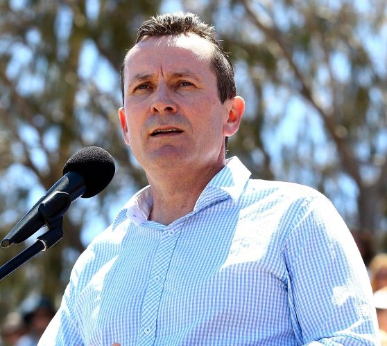 Mark McGowan. Photo: Getty