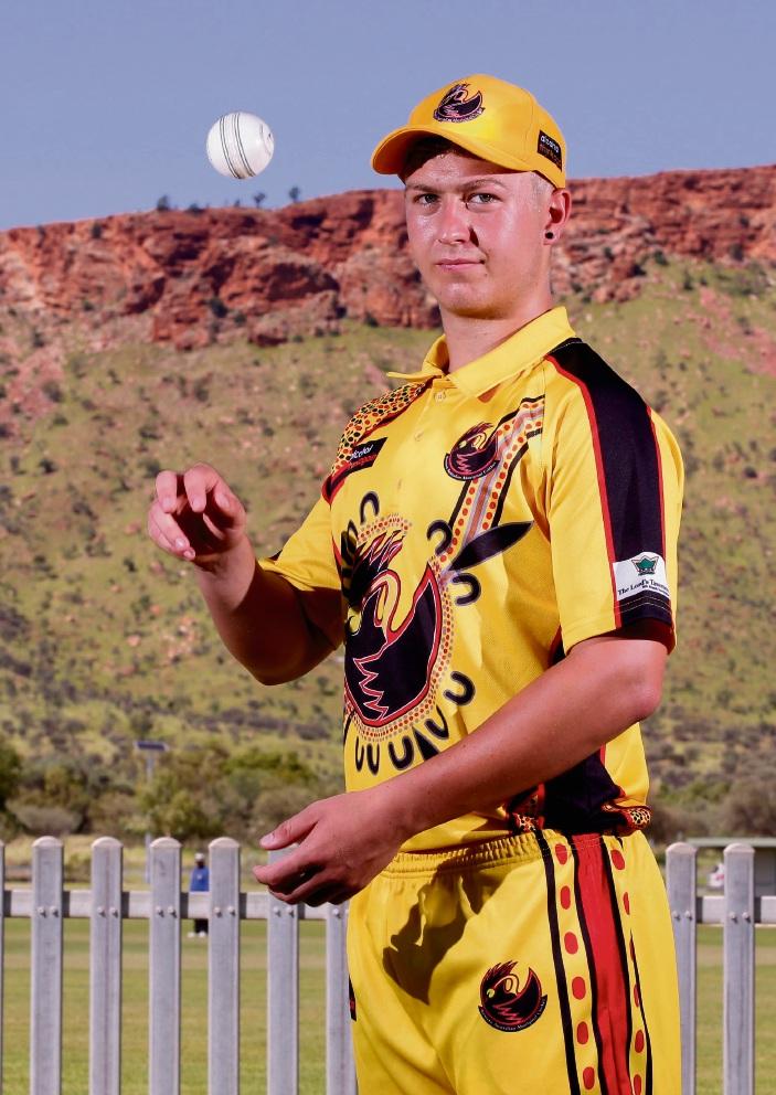 Mariners cricketer Craig Jones represented WA in Alice Springs last week.