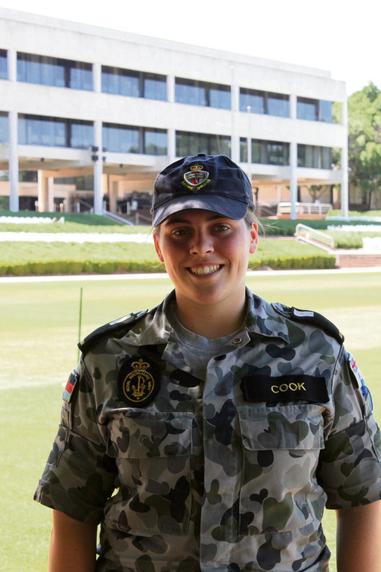 Former Mandurah Water Rescue cadet Emma Cook has graduated from the Australian Defence Force Academy.