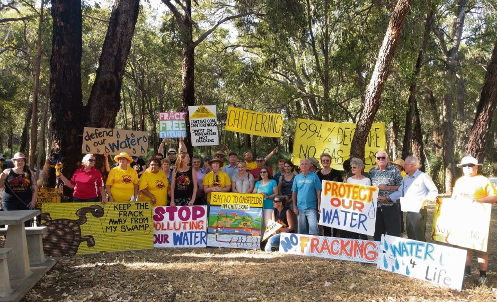 Chittering residents declare suburb Gasfield Free