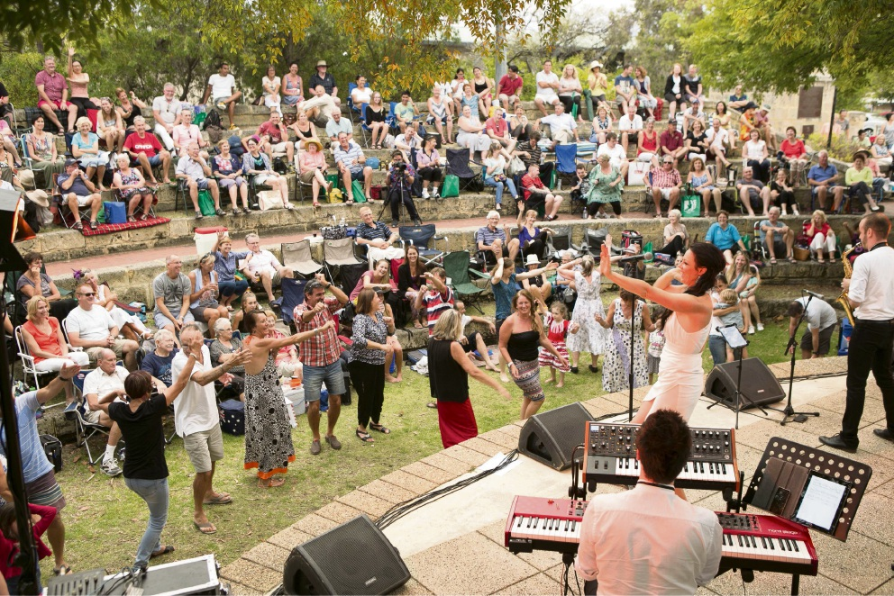 Singer-songwriters to the fore at Booragoon's Limestone Amphitheatre for Concert Series