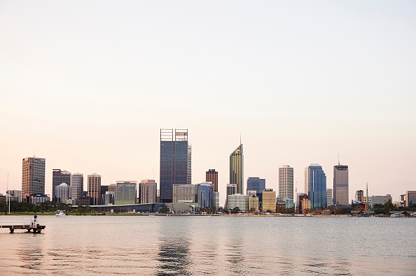 The Swan River. Picture: Bloomberg via Getty Images
