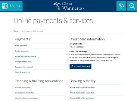 City of Wanneroo residents can now submit development applications online