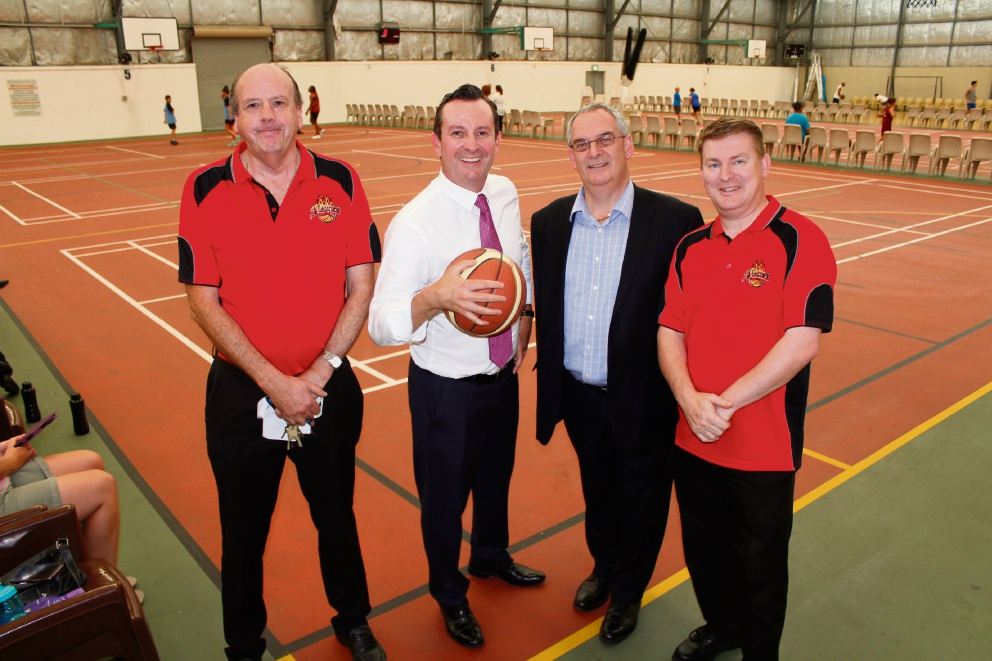 Mike Barnett Sports Complex basketball courts to net upgrades under Labor