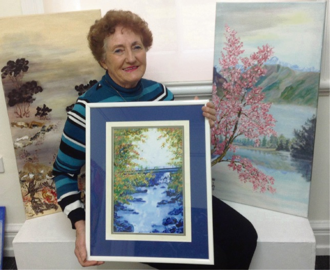 Guildford Village Potters to exhibit Val Forrest's work