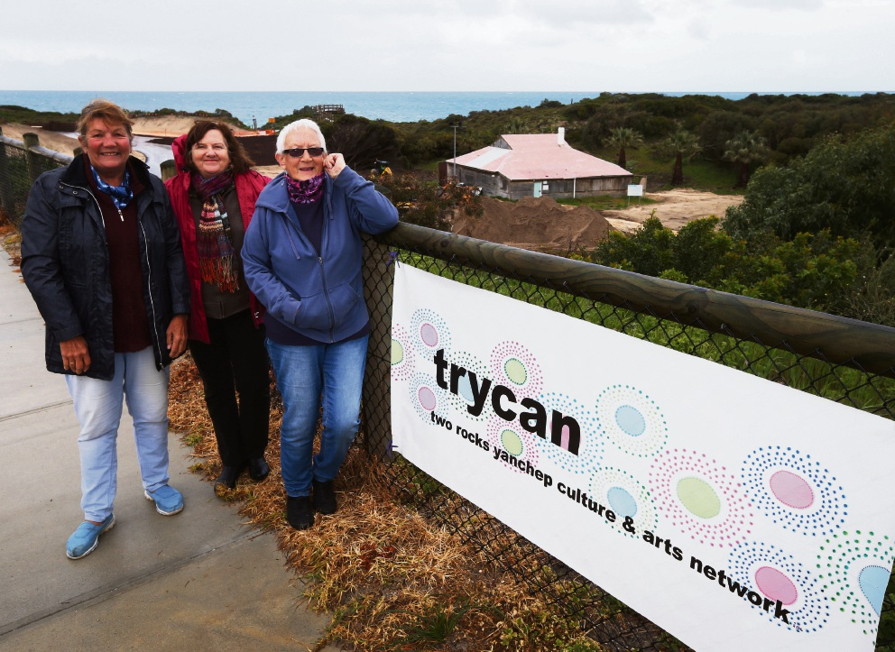 Pam Annesley, Merryl Snowden and Angie Beck from TRYCAN have welcomed the news. Picture: Matt Jelonek d458913
