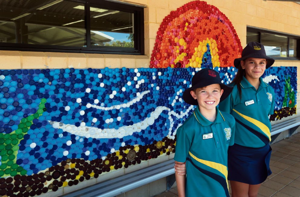 Two Rocks Primary student art provides eye-catching start to school year