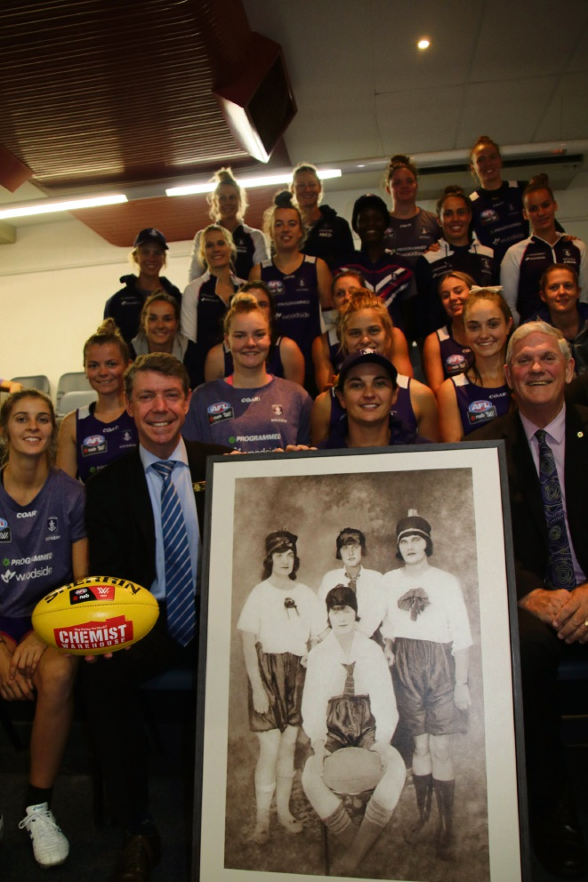 History passed to Fremantle Dockers women